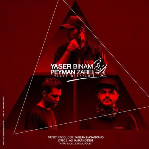 Yaser Binam & Peyman Zarei - Yadet Mioftam