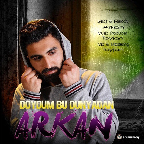تک ترانه - دانلود آهنگ جديد Arkan-Doydum-Bu-Dunyadan آهنگ جدید آرکان به نام دویدوم بو دونیادان