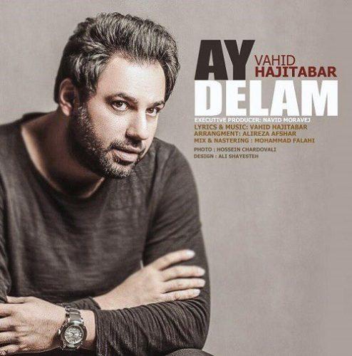 تک ترانه - دانلود آهنگ جديد Vahid-Hajitabar-Ay-Delam آهنگ جدید وحید حاجی تبار به نام آی دلم