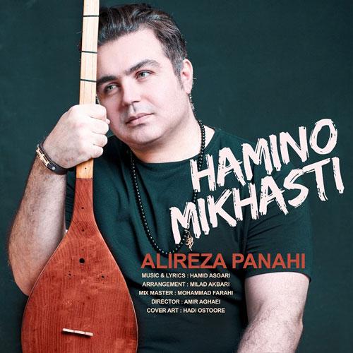 تک ترانه - دانلود آهنگ جديد Alireza-Panahi-Hamino-Mikhasti آهنگ جدید علیرضا پناهی به نام همینو میخواستی
