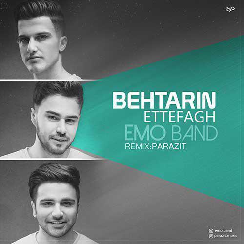 تک ترانه - دانلود آهنگ جديد Emo-Band-Behtarin-Ettefagh ریمیکس جدید امو بند به نام بهترین اتفاق