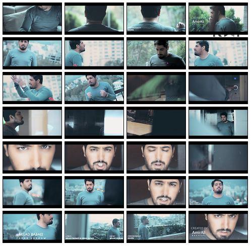 تک ترانه - دانلود آهنگ جديد Milad-Babaei-Fekr-Kardam-1080 موزیک ویدیو جدید میلاد بابایی به نام فرار کردم