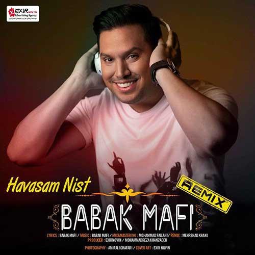 تک ترانه - دانلود آهنگ جديد Babak-Mafi-Havasam-Nist دانلود ریمیکس بابک مافی به نام حواسم نیست