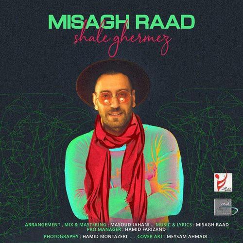 تک ترانه - دانلود آهنگ جديد Misagh-Raad-Shale-Ghermez دانلود آهنگ میثاق راد به نام شال قرمز