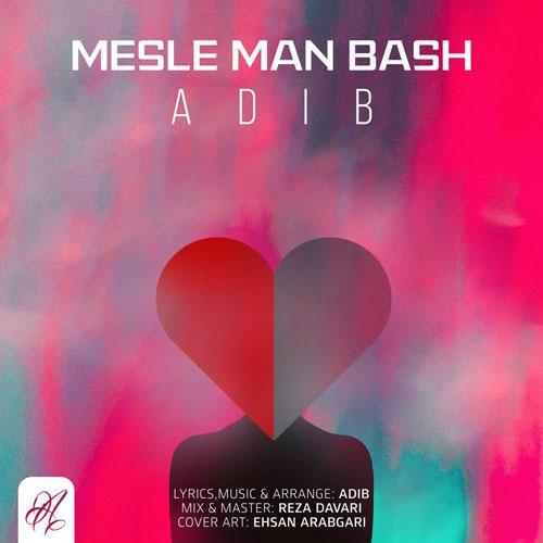 تک ترانه - دانلود آهنگ جديد Adib-Mesle-Man-Bash دانلود آهنگ ادیب به نام مثل من باش