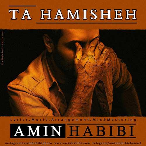 تک ترانه - دانلود آهنگ جديد Amin-Habibi-Ta-Hamisheh دانلود آهنگ امین حبیبی به نام تا همیشه
