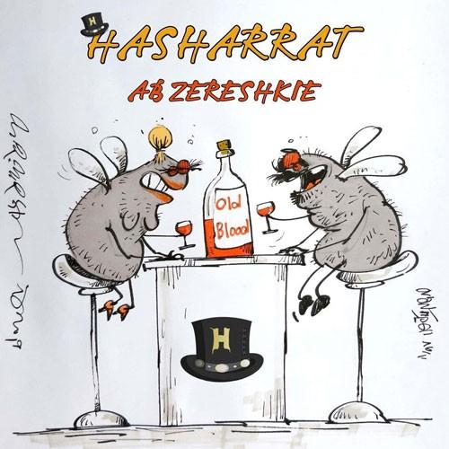 تک ترانه - دانلود آهنگ جديد Hasharrat-Ab-Zereshkie دانلود آهنگ حشرات به نام آبزرشکیه