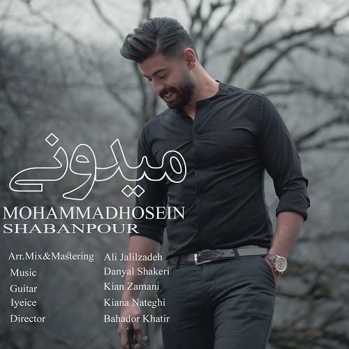 تک ترانه - دانلود آهنگ جديد Mohammad-Hosein-Shabanpour-Midooni دانلود آهنگ محمد حسین شعبان پور به نام میدونی