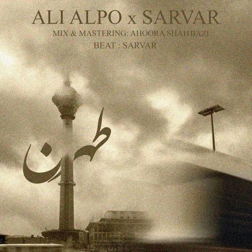 تک ترانه - دانلود آهنگ جديد Ali-Alpo-Sarvar-Tehran دانلود آهنگ علی عالپو و سرور به نام طهران