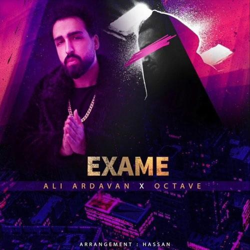 تک ترانه - دانلود آهنگ جديد Ali-Ardavan-Octave-Exame دانلود آهنگ علی اردوان و اکتاو به نام اِکسَمه