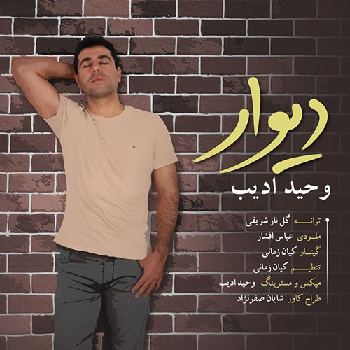 تک ترانه - دانلود آهنگ جديد Vahid-Adib-Divar دانلود آهنگ وحید ادیب به نام دیوار