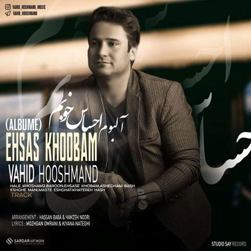 تک ترانه - دانلود آهنگ جديد Vahid-Hooshmand-Ehsas-Khoobam دانلود آلبوم وحید هوشمند به نام احساس خوبم