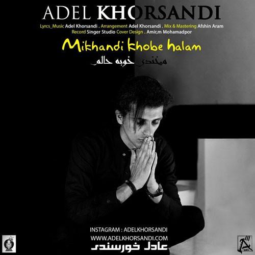 تک ترانه - دانلود آهنگ جديد Adel-Khorsandi-Mikhandi-Khobe-Halam دانلود آهنگ عادل خورسندی به نام میخندی خوبه حالم