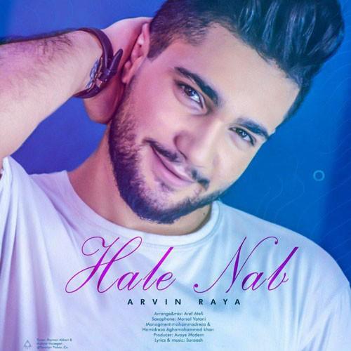 تک ترانه - دانلود آهنگ جديد Arvin-Raya-Hale-Nab دانلود آهنگ آروین رایا به نام حال ناب
