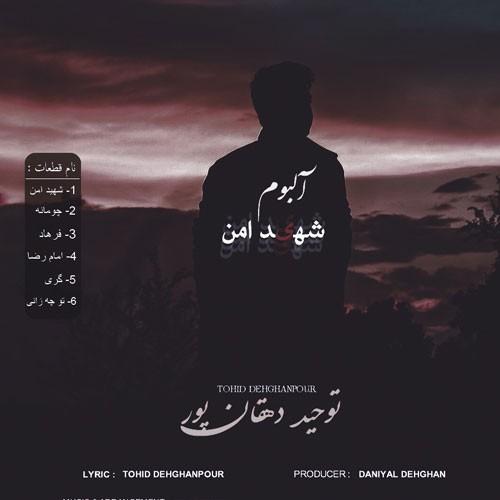 تک ترانه - دانلود آهنگ جديد Tohid-Dehghanpoor-Shahid-Amen دانلود آلبوم توحید دهقانپور به نام شهید امن