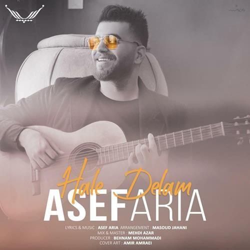 تک ترانه - دانلود آهنگ جديد Asef-Aria-Hale-Delam دانلود آهنگ آصف آریا به نام حال دلم