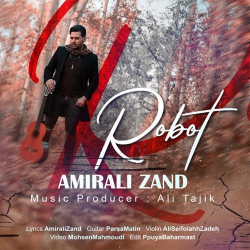 تک ترانه - دانلود آهنگ جديد Amirali-Zand-Robat دانلود آهنگ امیرعلی زند به نام ربات