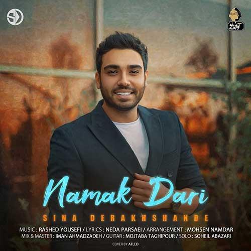 تک ترانه - دانلود آهنگ جديد Sina-Derakhshande-Namak-Dari دانلود آهنگ سینا درخشنده به نام نمک داری