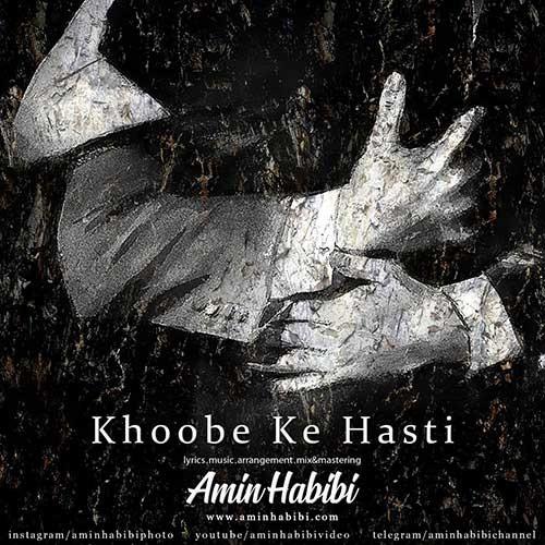 تک ترانه - دانلود آهنگ جديد Amin-Habibi-Khoobe-Ke-Hasti دانلود آهنگ امین حبیبی به نام خوبه که هستی