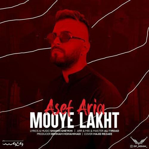 تک ترانه - دانلود آهنگ جديد Asef-Aria-Mooye-Lakht دانلود آهنگ آصف آریا به نام موی لخت